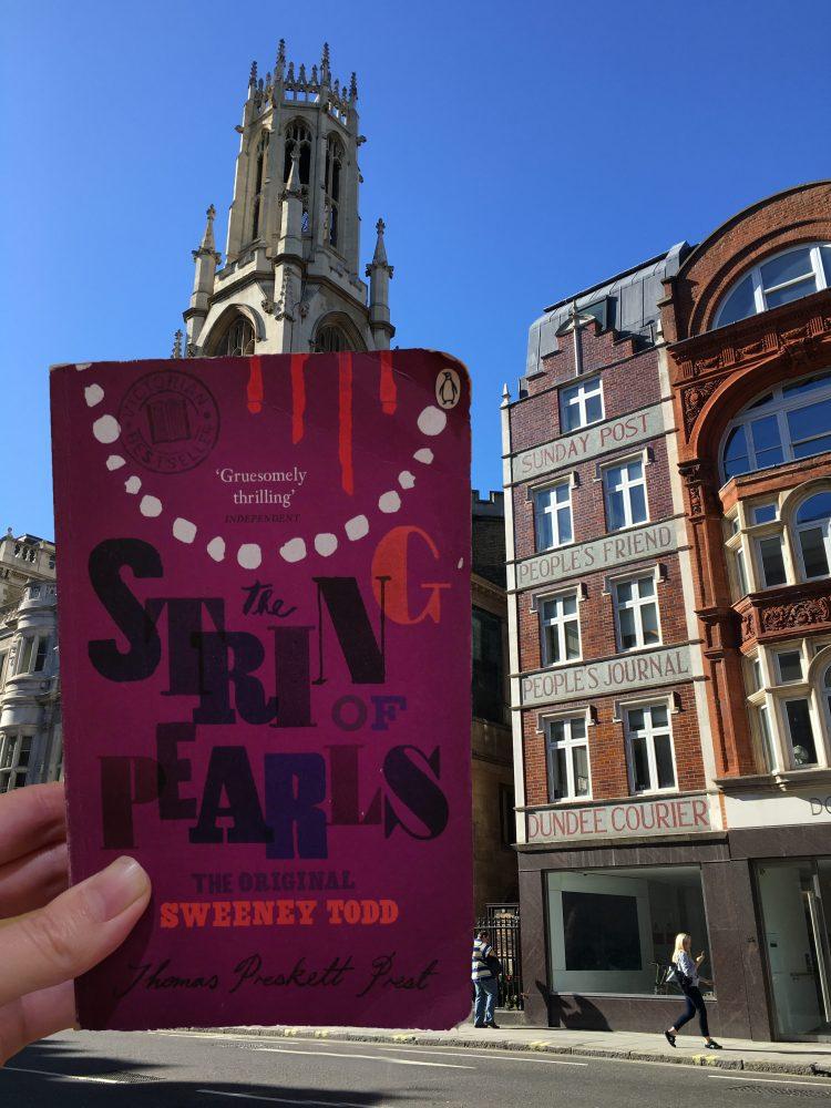 186 Fleet Street home of Sweeney Todd