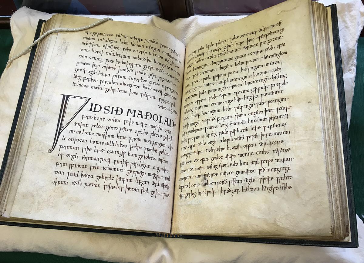 Exeter Book manuscript