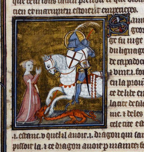 St George and the Dragon Legenda Aurea