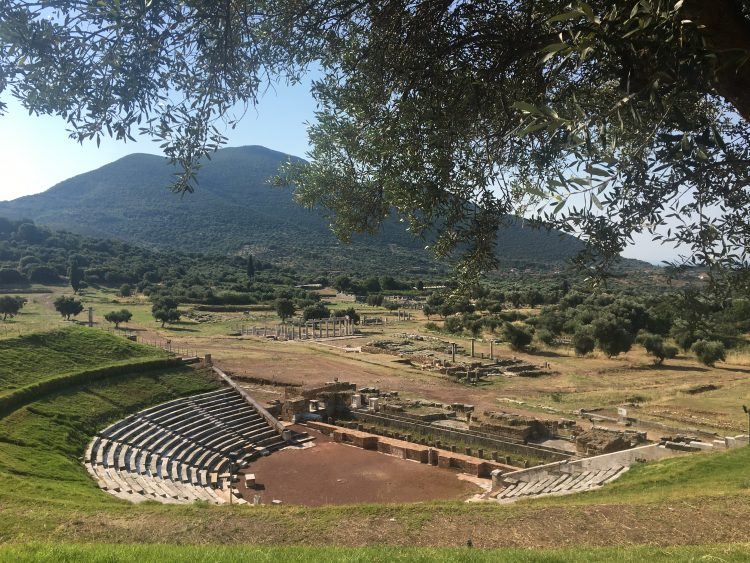 View of ancient Messene