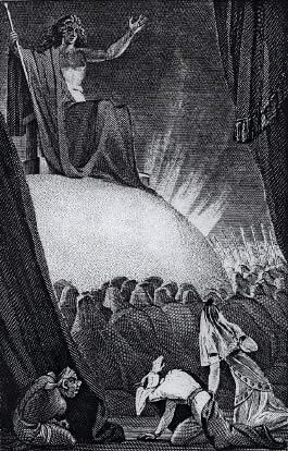 Illustration from William Beckford's Vathek