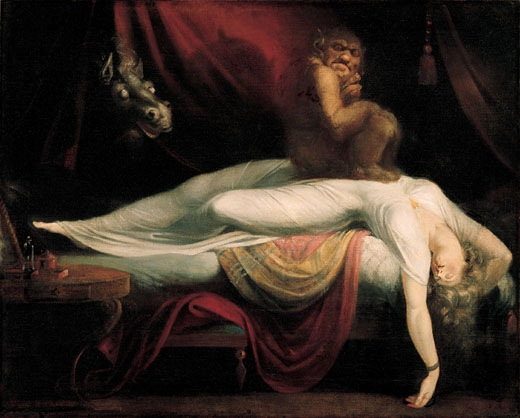 Henry Fuseli The Nightmare 18th century