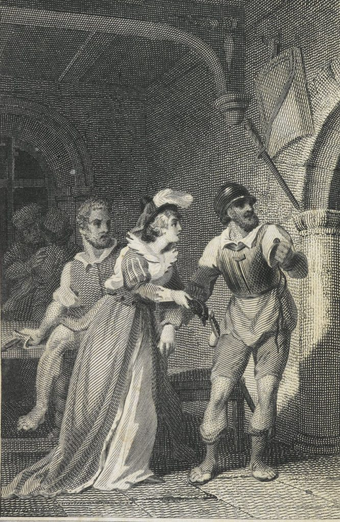 Fifth edition of Ann Radcliffe's The Mysteries of Udolpho