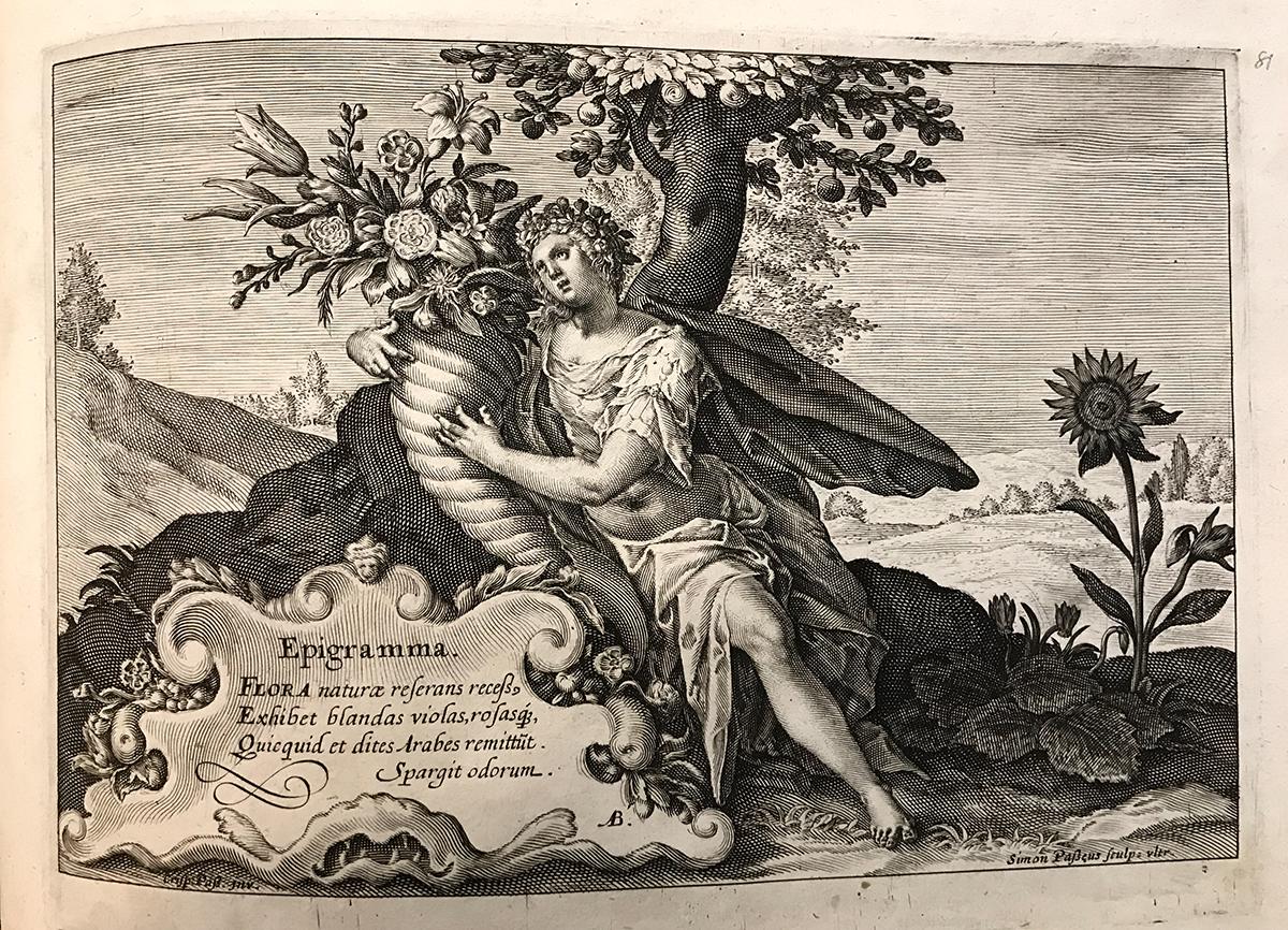 Hortus Floridus, Crispijn de Passe the Younger