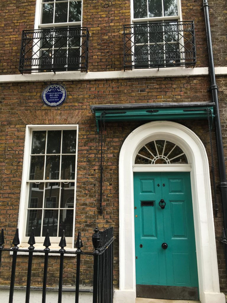 Charles Dickens house, Doughty Street, London