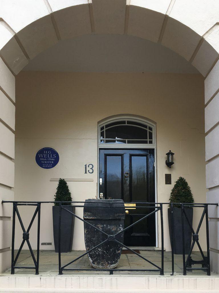 H G Wells house