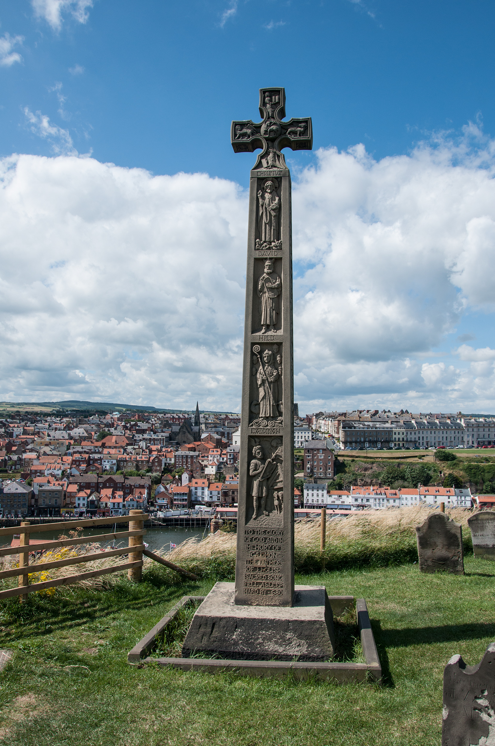 Caedmon's Cross Whitby