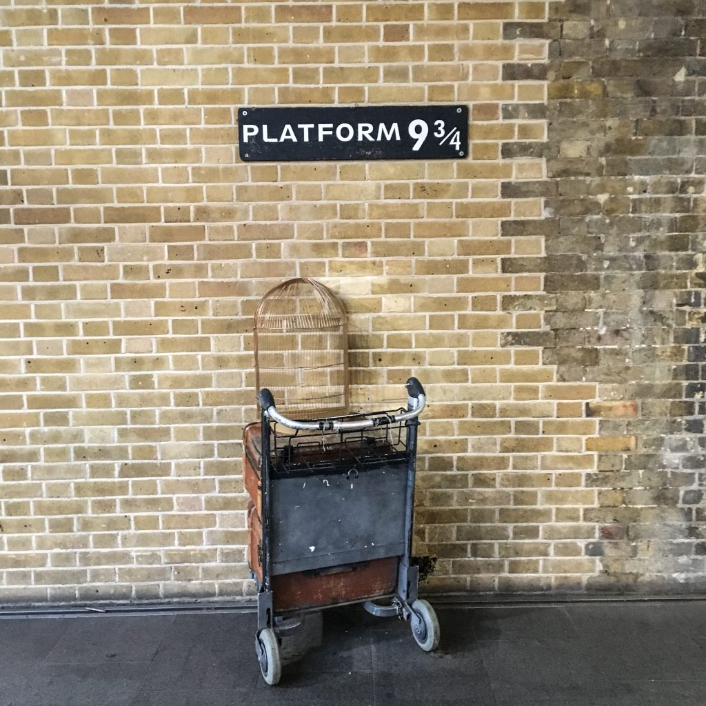 Platform 9 3/4 King's Cross Station