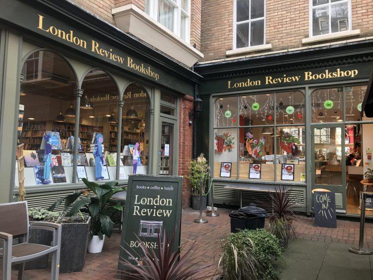 Exterior of London Review Bookshop